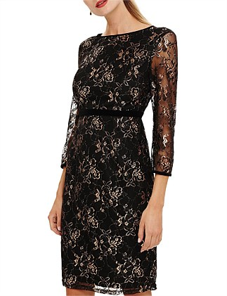 JULES LACE DRESS WITH SLEEVE
