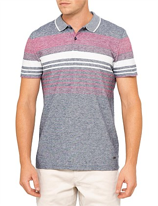 Pilak striped polo