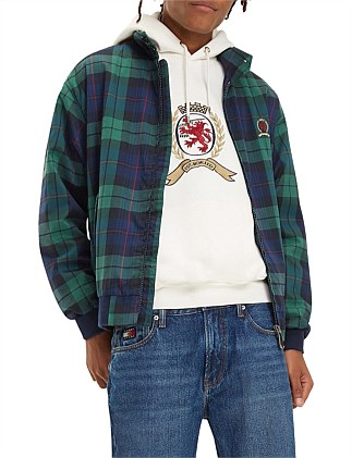 Tjm Plaid Crest Harrington M5