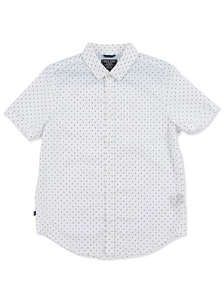 Layered Polka S/S Shirt (Boys 3-7 Years)