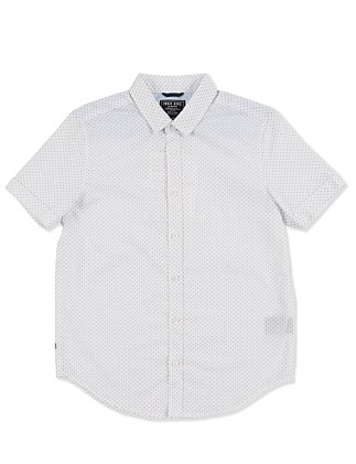 Burg Fine Print S/S Shirt (Boys 3-7 Years)
