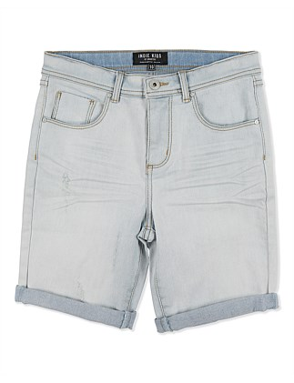 Denim Sawn Short (Boys 3-7 Years)