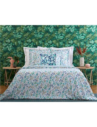 Flora Queen Bed Quilt Cover