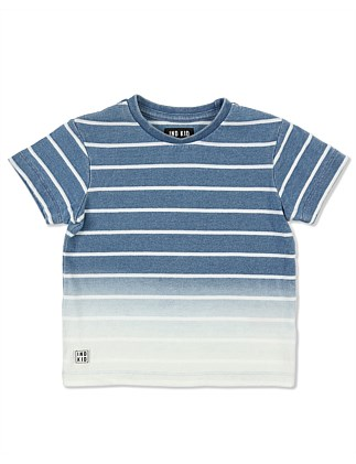 Dip Stripe Tee (Boys 0-2 Years)