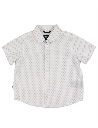 Burg Fine Print S/S Shirt (Boys 0-2 Years)