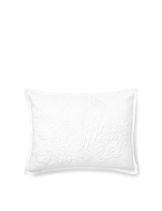 Blanc Bleu Watney White Cushion Cover