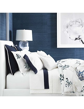 Blanc Bleu Fallon Queen Bed Duvet Cover