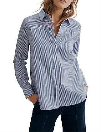 2ebef5de98dd6 Stripe Button Shirt Special Offer