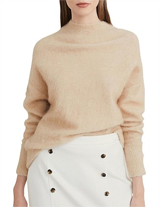 Luxe Wide Neck Knit