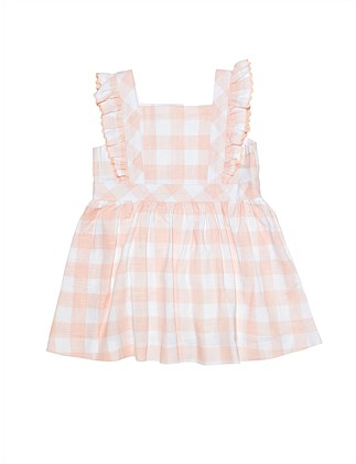 Pinafore Dress - Gingham(000-2Y)