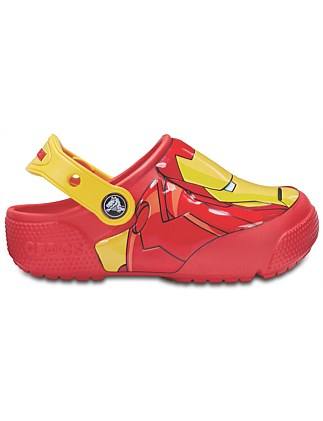 DISNEY Iron Man Lights Clog