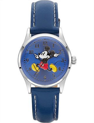 Disney Petite Running Mickey Watch