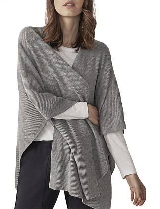 KATHY KNITTED PONCHO