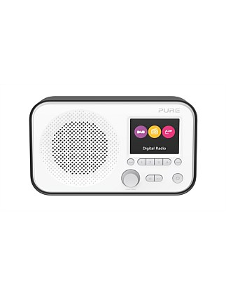 Elan E3 Portable DAB/DAB+/FM Radio - Black