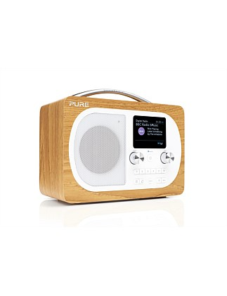 Evoke H4 Portable DAB/DAB+/FM Radio with Bluetooth - Oak