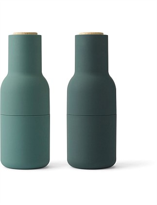 Menu Bottle Grinder Set Of 2 Dark Green