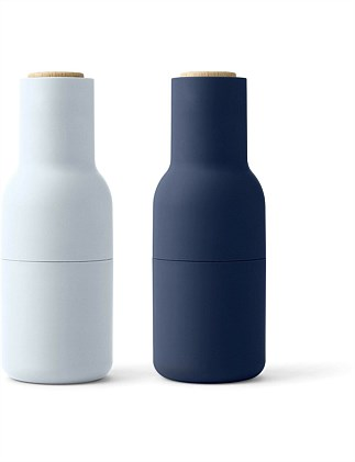 Menu Bottle Grinder Set Of 2 Classic Blue