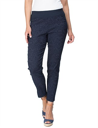Jacquard Stretch Pant