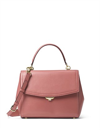 Ava Medium Leather Satchel