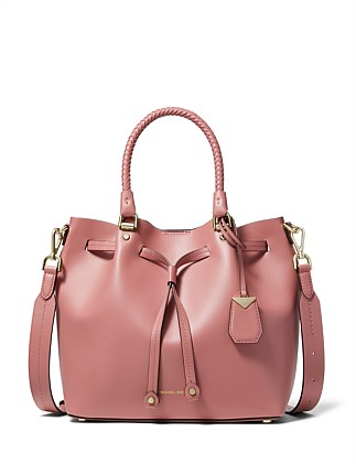 f814e80fb64b Blakely Leather Bucket Bag DJ On Sale