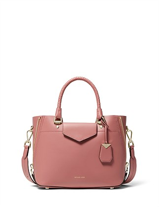 c5c80428d5cb02 Blakely Leather Satchel DJ_On_Sale. ROSE; SUNSHINE; PINE GREEN. Michael Kors
