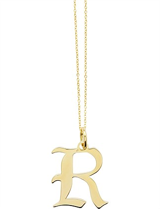 LETTER R - NECKLACE