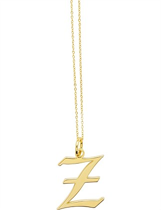 LETTER Z - NECKLACE