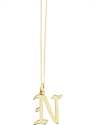 LETTER N - NECKLACE