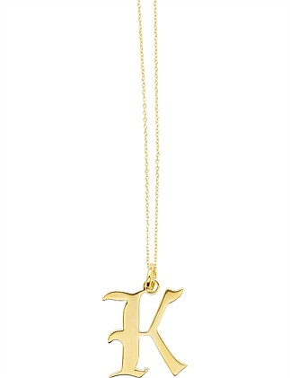 LETTER K - NECKLACE
