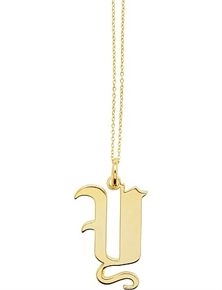 LETTER Y - NECKLACE