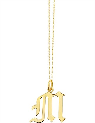 LETTER M - NECKLACE