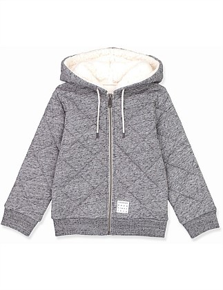 Quilted Hoodie (Boys 2-12)