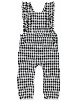 Gingham Jumpsuit (Baby Girls 0-2)