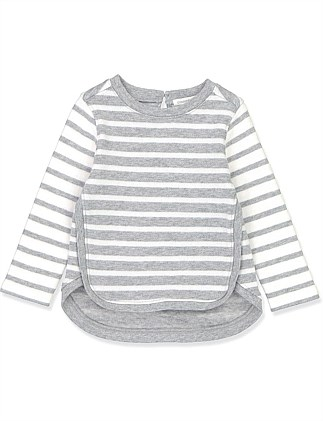 Double Face Stripe T-Shirt