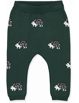 Hedgehog Knit Pant