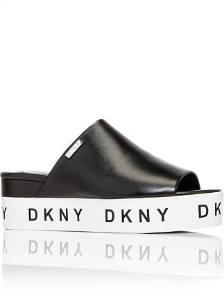 c69565e6323 Carli Platform Slide Special Offer. DKNY