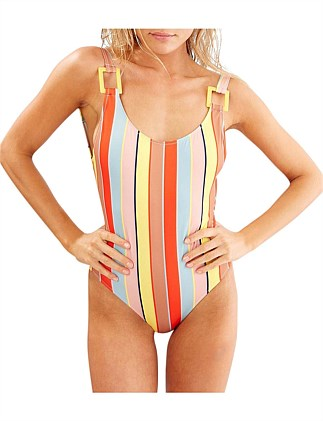 The Stella One Piece Cabana Stripe