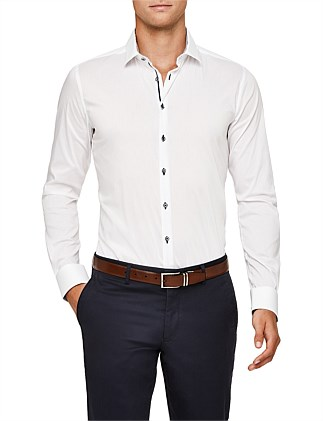 Godfrey Slim Stretch Fit Dress Shirt