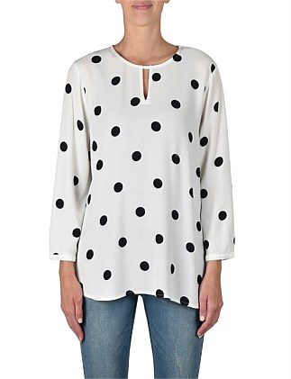 3/4 Sleeve Spot Top