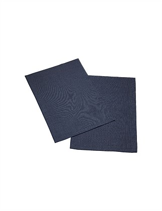 Textil Uni TREND Placemat vintage blue, set of 2, 35x50cm