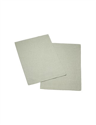 Textil Uni Trend Placemat Fog Green 35x50cm Set of 2