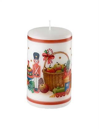 Winter Specials large nutcracker candle
