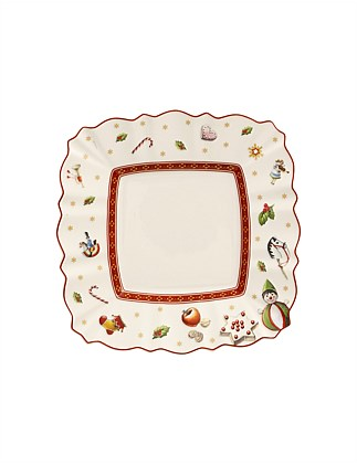 Toy's Delight square bread plate
