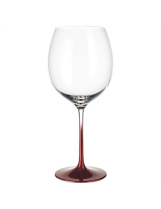 Villeroy & Boch Allegorie Premium Rosewood Burgundy Glass 247mm Set of 2