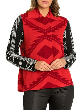 Long Sleeve Aztec Jacket