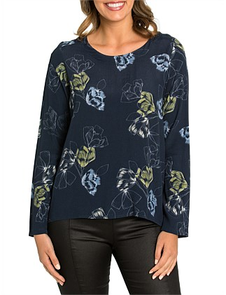 Long Sleeve Winter Garden Top
