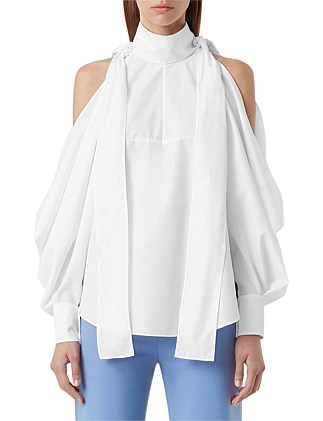 Etta Cold Shoulder Shirt