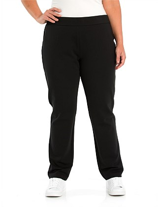 Full Length Pull On Ponte Pant