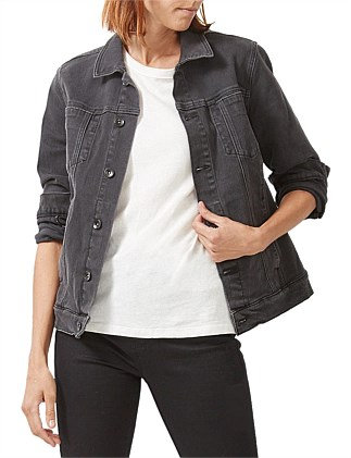THE BLACK DENIM JACKET