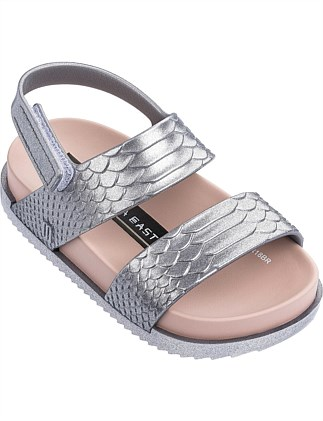 Mini Melissa Cosmic Sandal + Baja East